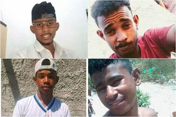 Irará: Quatro jovens da mesma família são mortos