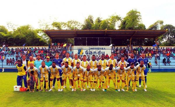 Seleção ganduense de futebol estreia com vitória na Copa Intervale.
