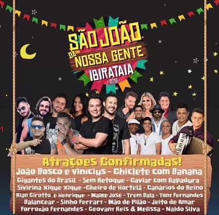 Confira as atrações e programação do São João de Ibirataia