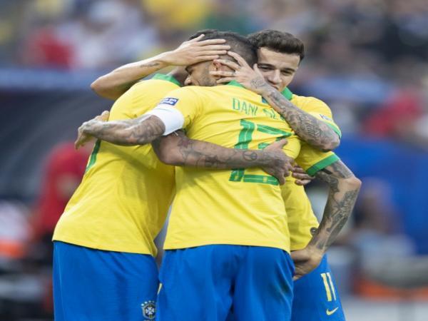 Brasil pega o Paraguai nas quartas de final