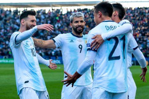 Argentina garante terceiro lugar da Copa América