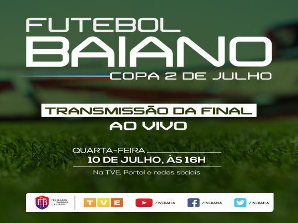 TVE transmite final da Copa 2 de Julho