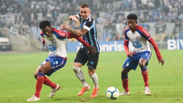 Copa do Brasil: Bahia empata com o Grêmio nas quartas de final
