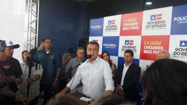 Rui anuncia licitação para cinco novas Policlínicas Regionais na Bahia