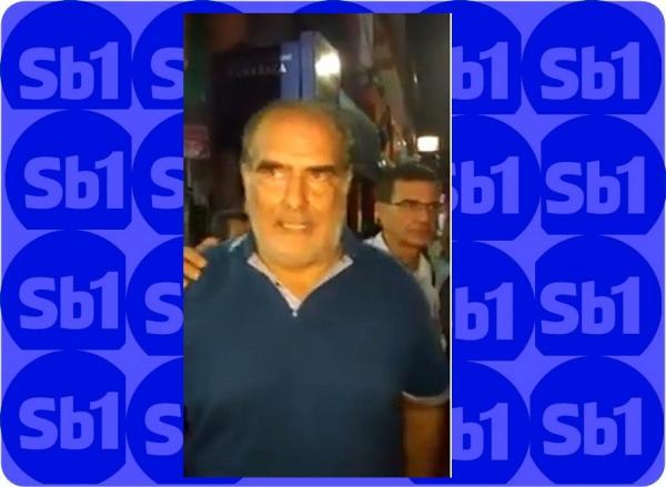 Valença: Blitz terminou em confusão; prefeito fica irritado. vídeo