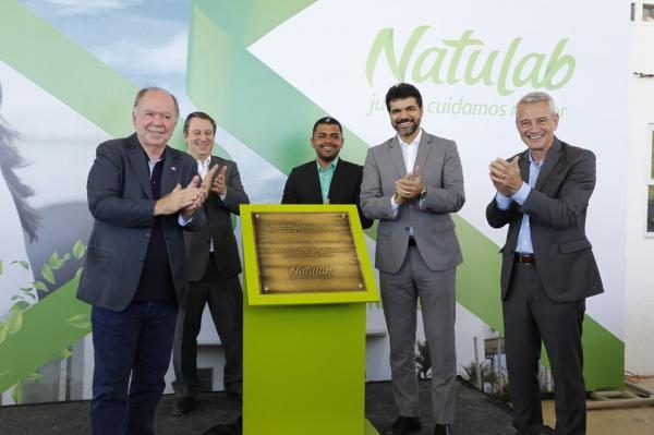 Natulab inaugura fábrica em Stº A. de Jesus; empreendimento deve gerar 200 novos empregos