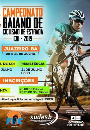Ciclistas ganduenses participaram do Campeonato Baiano.