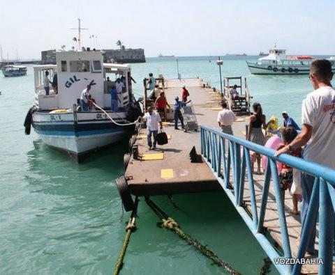 Travessia Salvador-Mar Grande segue suspensa pelo 5º dia consecutivo