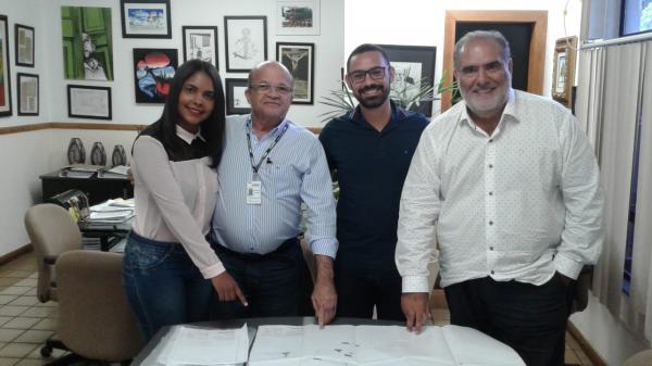 Em reunião com a Conder, Prefeito de Valença e Secretários reafiram parceria em prol do melhoramento de Valença