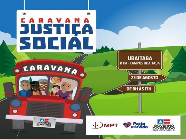 Caravana da Justiça Social chega ao município de Ubaitaba