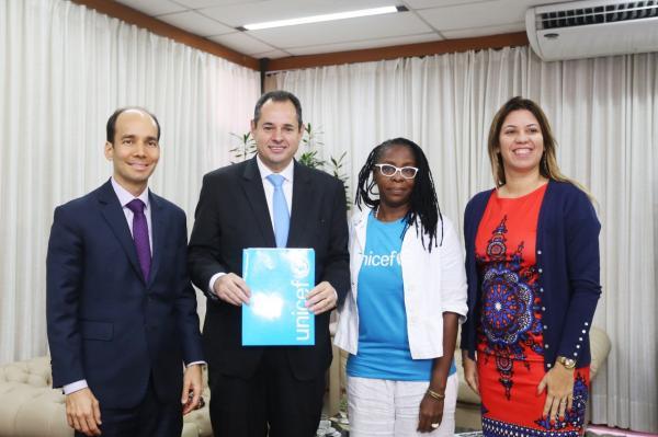 UNICEF, Ministério e Defensoria Pública querem presença do Legislativo estadual em Comitê de defesa de crianças e jovens.