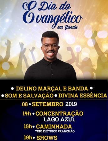 Dia do Evangélico em Gandu será comemorado neste domingo (8)