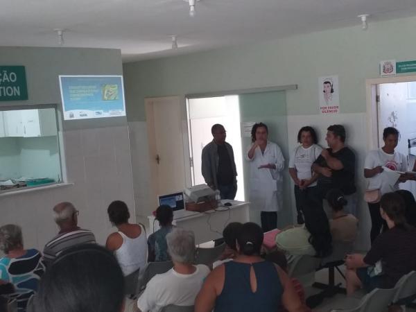Núcleo Regional de Saúde de Gandu e Secretaria da Saúde de Cairu promovem palestras sobre esquistossomose