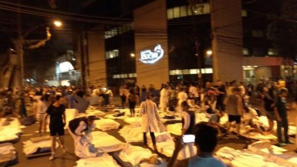 Incêndio! Onze mortos confirmados em hospital no Rio