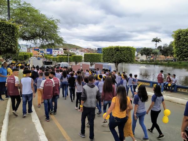 Gandu: Escolas promovem ações especiais em alusão ao Setembro Amarelo