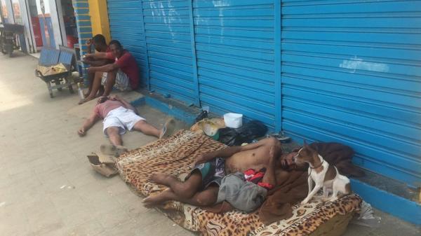 Cresce o número de moradores de rua em Gandu