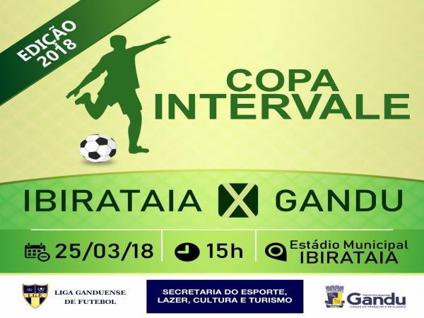 Seleção gaduense de futebol enfrenta Ibirataia em mais uma rodada da Copa Intervale 2018.