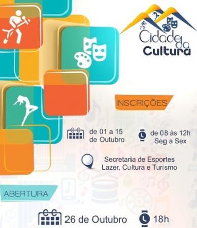 Projeto Cidade da Cultura pretende revelar novos talentos culturais de Gandu.