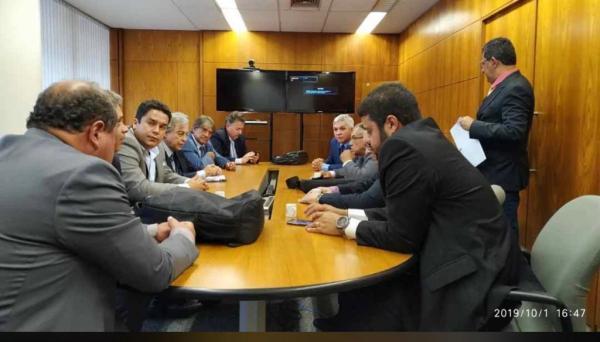 Prefeito Lázaro Andrade participa da Luta em favor do fortalecimento da Ceplac e da Região Cacaueira em Brasília.
