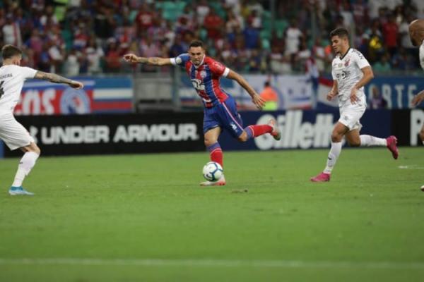 Bahia perde Atlético em casa
