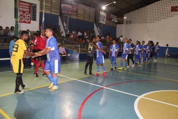 Chuva de gols marcam à abertura do II Campeonato de futsal Inter Igrejas.