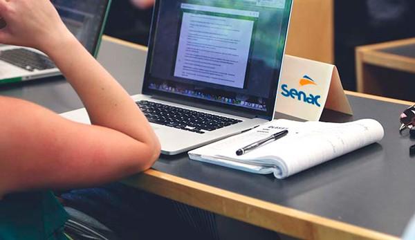 SENAC inscreve para curso a distância em Recusos Humanos.