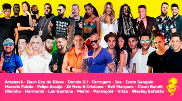 Festival de Verão divulga grade completa de atrações; confira