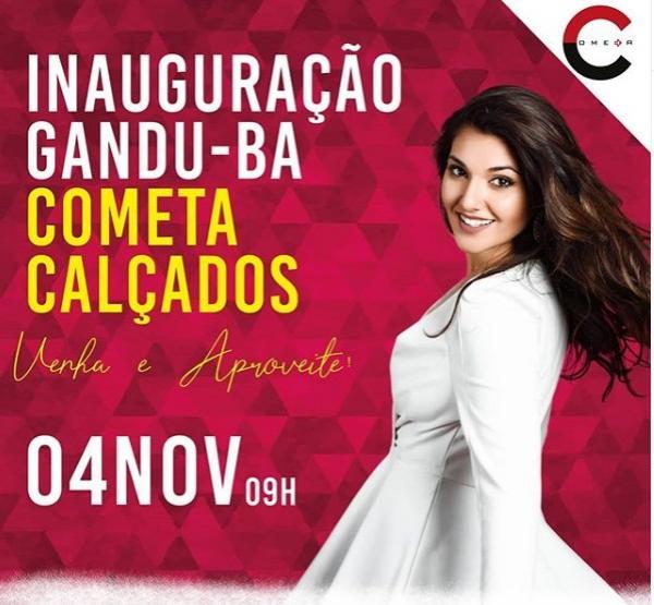 Lojas Cometa vai inaugurar segunda loja em Gandu