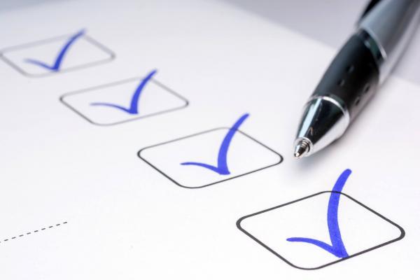 Checklist ENEM 2019