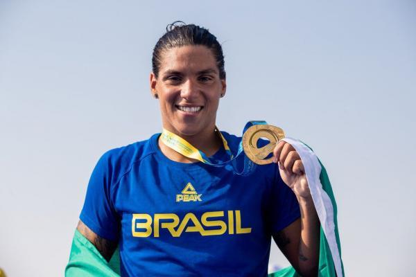 Ana Marcela melhor nadadora de águas abertas do mundo