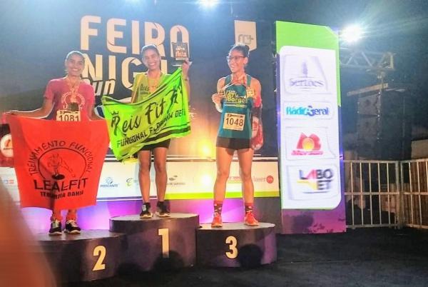 Atleta de Gandu vence corrida em Feira de Santana