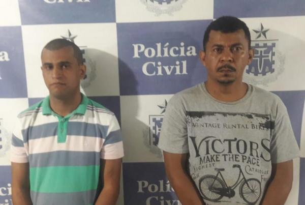 Polícia prende integrantes de quadrilha logo após assalto a loja em Gandu