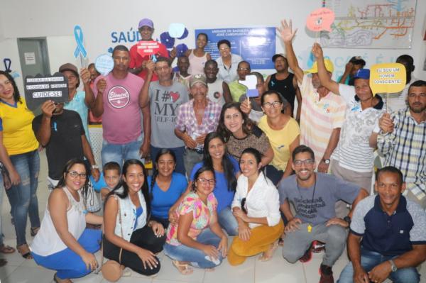 Teolândia: Secretaria de Saúde realiza Atendimento Noturno na campanha do Novembro Azul