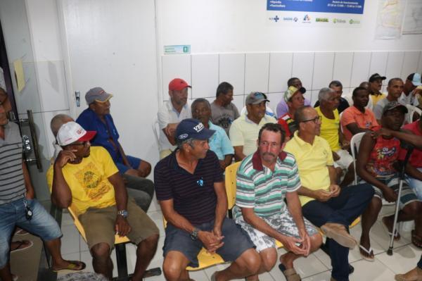 Teolândia: Unidade de Saúde do José Teles realiza atendimento Noturno na campanha do Novembro Azul