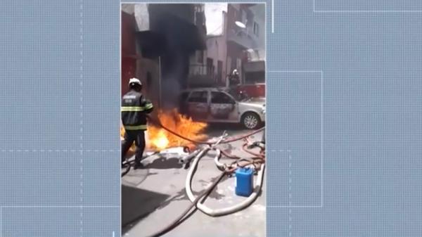 Itabuna: Incêndio atingir casa; mulher e três crianças ficam feridos