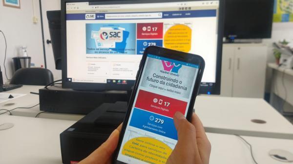 Estado implanta matrícula 100% online com o SAC Digital