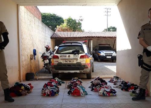 Ladrão de calcinhas ataca varais em MG; suspeito e preso com mais de mil peças