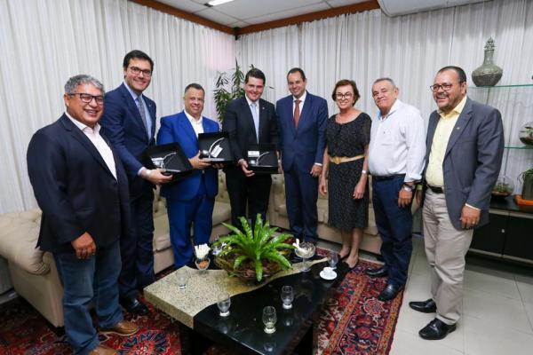 Presidentes das Assembleias da Bahia e São Paulo trocam experiências de gestão