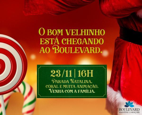 Doce Natal chega ao Boulevard Shopping Camaçari no próximo dia 23 de novembro