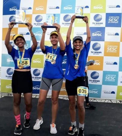 Atleta de Gandu vence Corrida em Itaparica