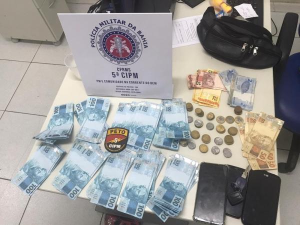 Turistas são detidos com R$ 9 mil em notas falsas na Ilha de Itaparica