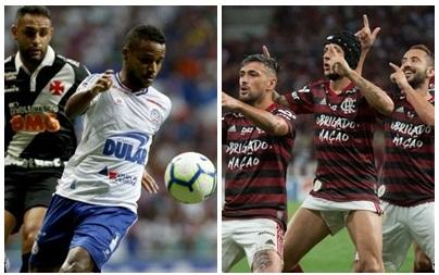 Bahia empata com o Vasco e Flamengo atropela o Avaí