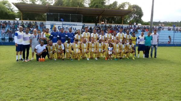 Seleção ganduense de futebol sofre a primeira derrota na Copa Intervale.