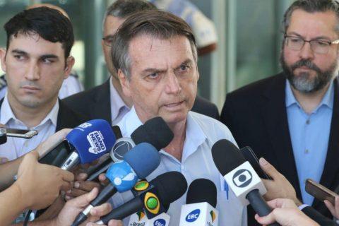 """""""Um dos piores dias da minha vida foi quando cheguei na Bahia"""", diz Bolsonaro"""