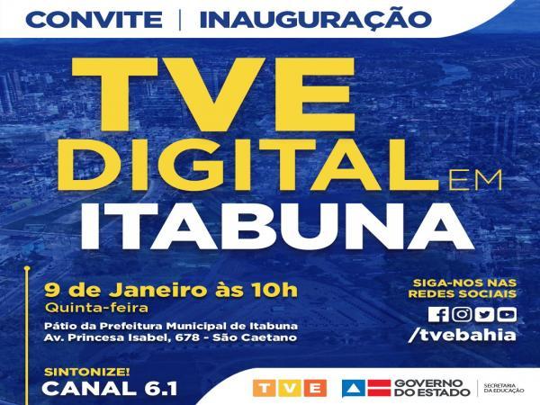 Itabuna recebe nesta quinta-feira o sinal digital da TVE