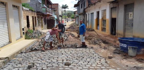 Teolândia: 1ª Etapa das obras de Pavimentação e Drenagem do Bairro Cara Nova já inicia em ritmo acelerado