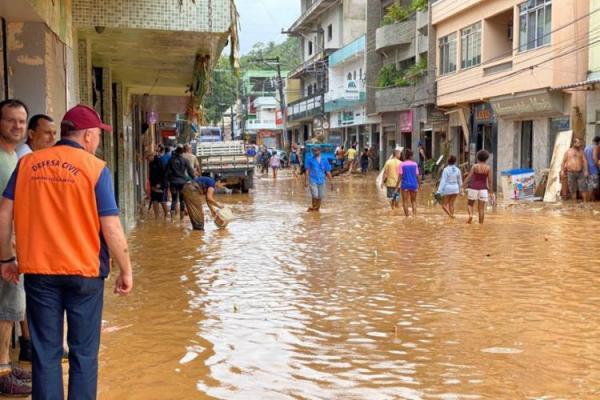 Espírito Santo tem 229 pessoas desalojadas e 6 mortos