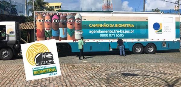 Caminhão da Biometria: 9º roteiro contemplará quatro municípios
