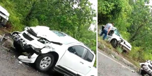 Valença: Quatro pessoas morrem em grave acidente na estrada do Guaibim