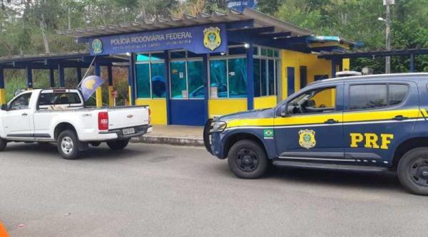 Empresário é detido na BR-101 em Gandu com S10 roubada